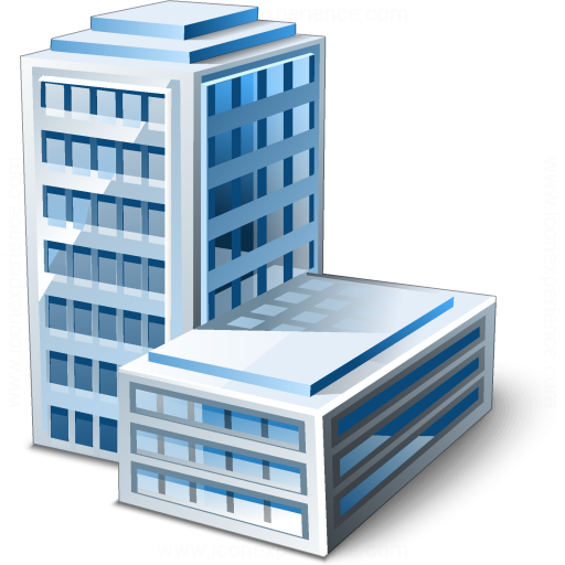 Overhead Office Building Icons Images