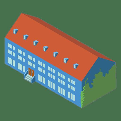 Isometric School Building