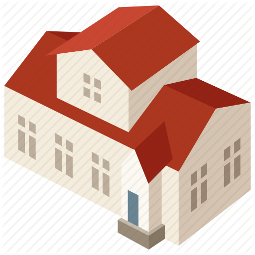 Building, Family, Home, House, Mansion, Suburban Icon