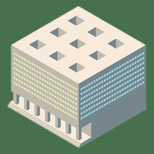 Isometric Courthouse