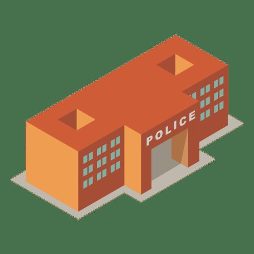 Isometric Police Station