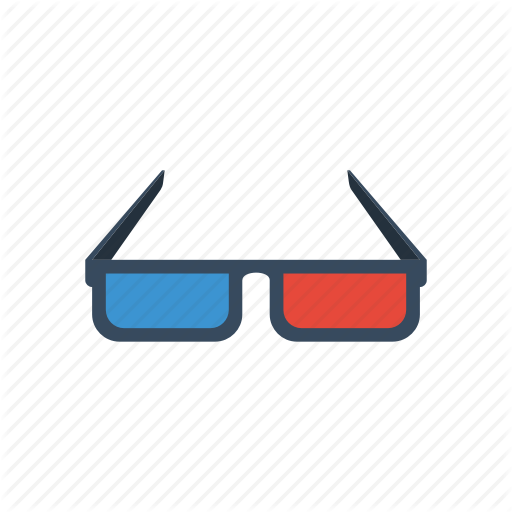 Cinema, Film, Glasses, Movie Icon