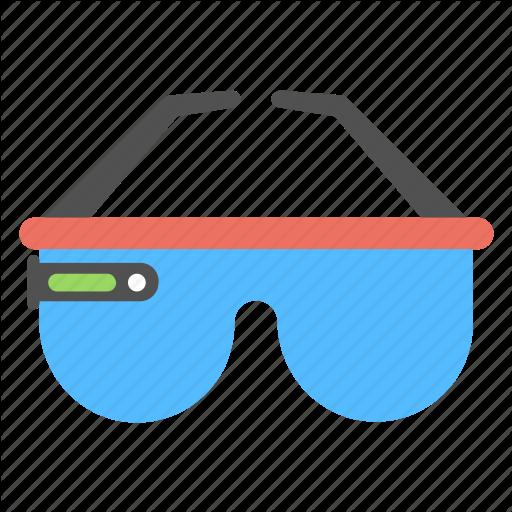 Glasses, Virtual Glasses, Virtual Goggles, Virtual Reality
