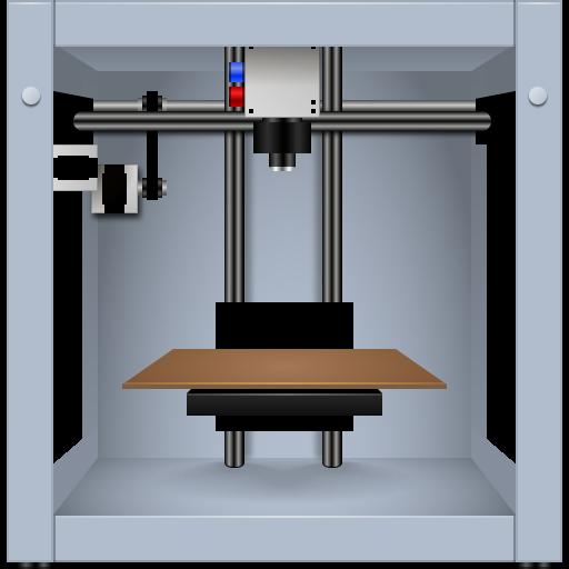 Maker Bot Icon Free Printer Iconset Aha Soft