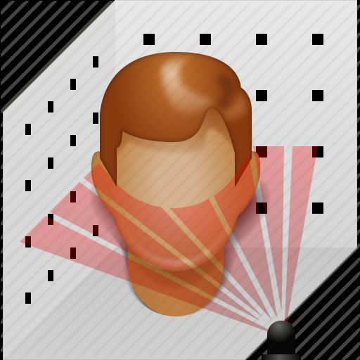 Scan, Laser Scanner, Model, Modeling, Plastic Head