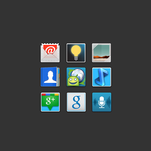 Icon Pack Blur Squared Appstore For Android