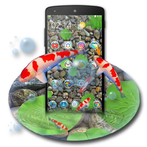Koi Lucky Fish Theme Apk Download From Moboplay