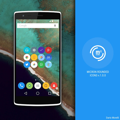 Micron Rounded Icon Pack Apk