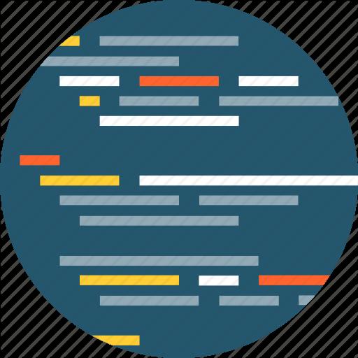 Algorithm Icon Flat