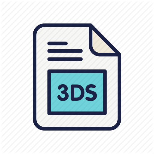 Autodesk Max, Document, Extension, File, Type Icon
