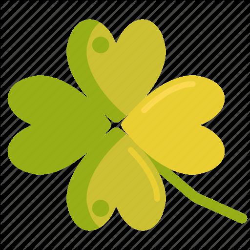 Clover, Four Leaf Clover, Four Leaves Clover, Luck, Lucky Icon