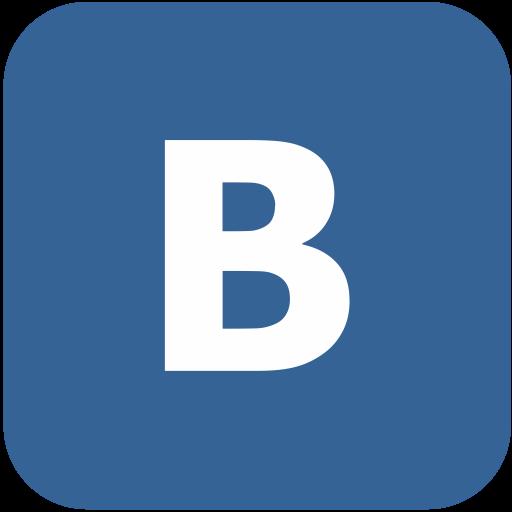 Logo, Vk, Logotype, Vkontakte Icon