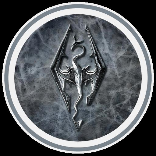 Skyrim Icon Long Tail