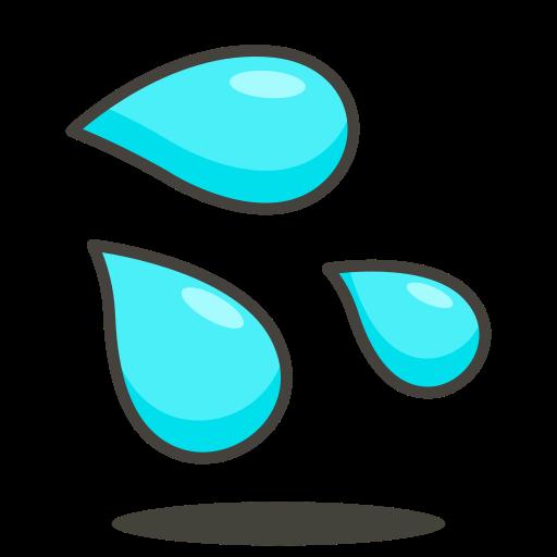 Sweat, Droplets Icon Free Of Free Vector Emoji