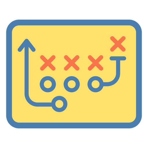 American Football Tactic Icon