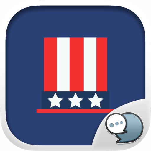 Of July Stickers Emoji Keyboard