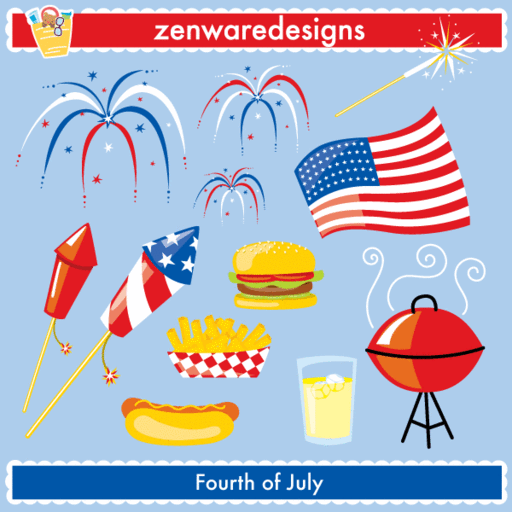Independence Day Cliparts Mygrafico