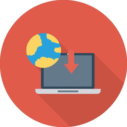 Laptop Icon Education Dinosoftlabs