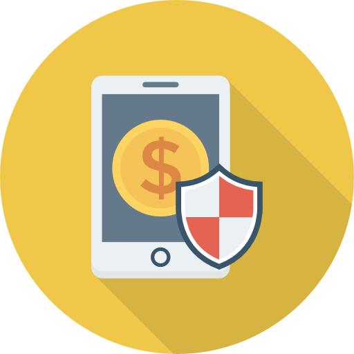 Smartphone Icon Banking And Finance Dinosoftlabs