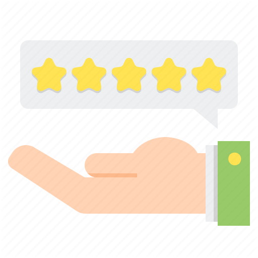 Stars, Rate, Rating, Review Icon