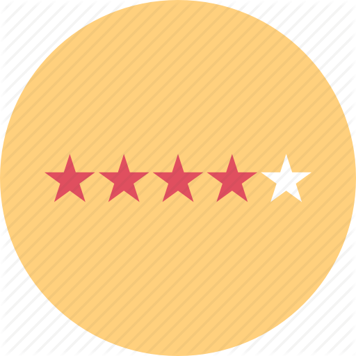 Five, Rating, Service, Star Icon