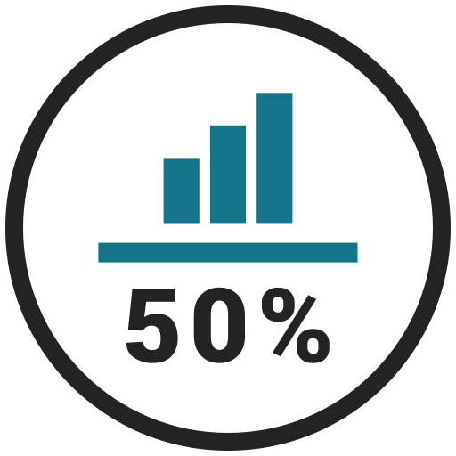 Graphics, Charts, Chart, Business, Stats, Percentage, Bars Icon