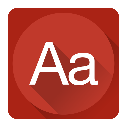Dictionary Icon System Iconset Blackvariant