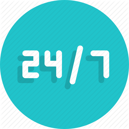 Hours, Service Icon