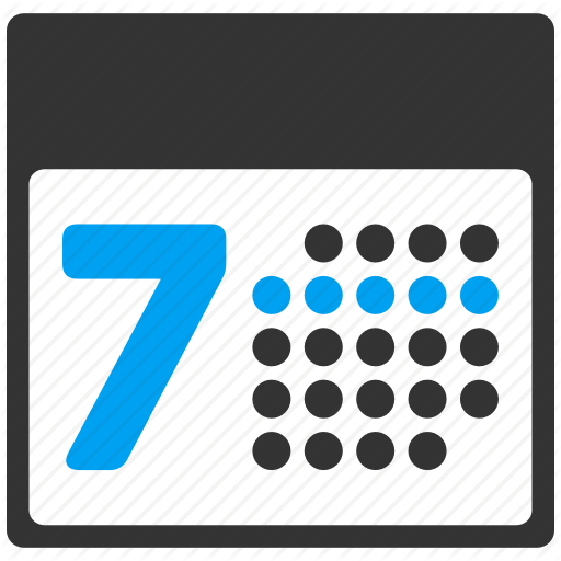 Appointment, Calendar Grid, Number Rectangular Cells, Schedule
