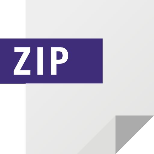 Zip Icon Set Freepik