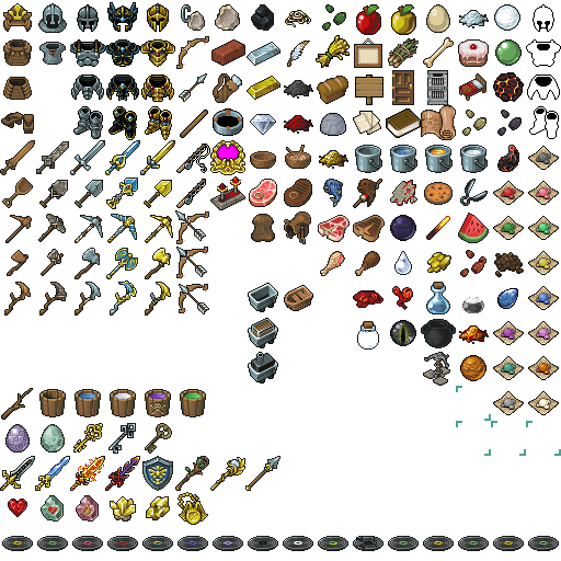 Elements From Minecraft Most Of Them Pretty Much Look Alike