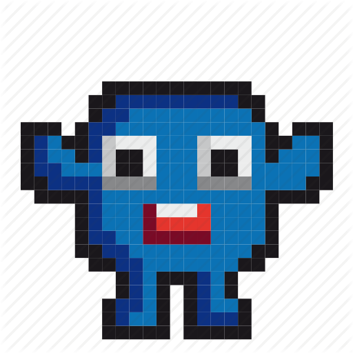Avatar, Cartoon, Character, Game, Gaming, Monster, Pixel Art Icon