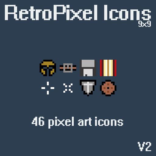 Retropixel Icons