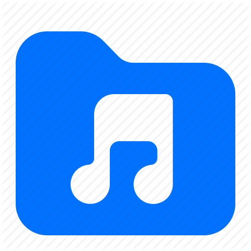 Archive, Audio, Folder, Music Icon