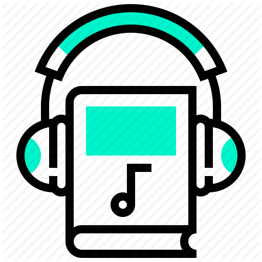 Audio, Book, Headphone, Learning, Sound, Tutorial Icon