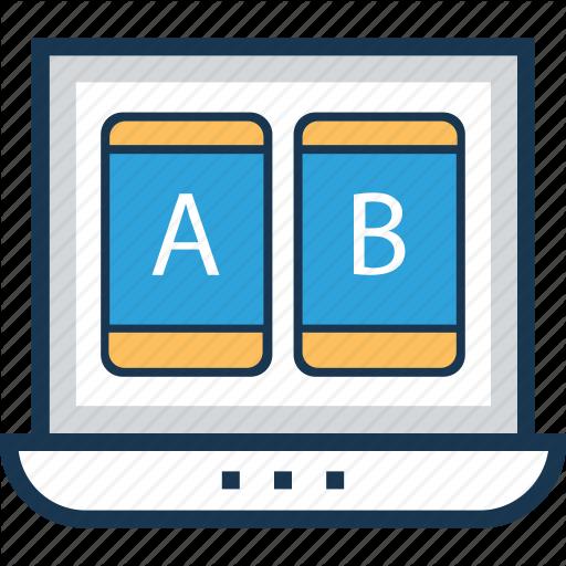 Ab Testing, Compare, Ui, Variations, Web Testing Icon