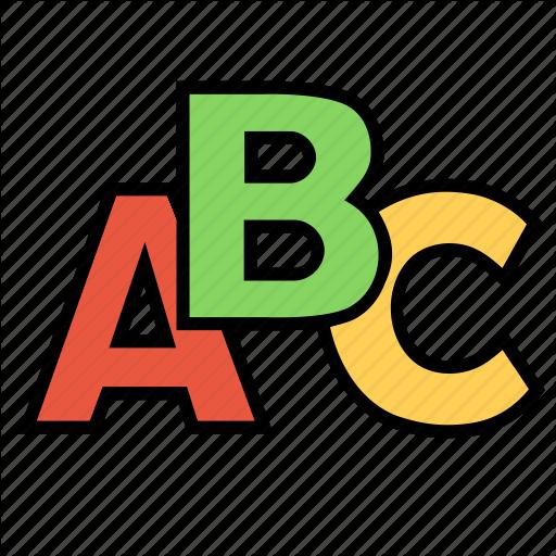 Abc, Alphabet, Book, Education, Notebook, School, Study Icon