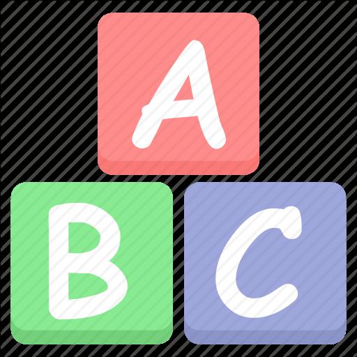 Abc, Alphabets, Children, Class, Education, English, Kids Icon