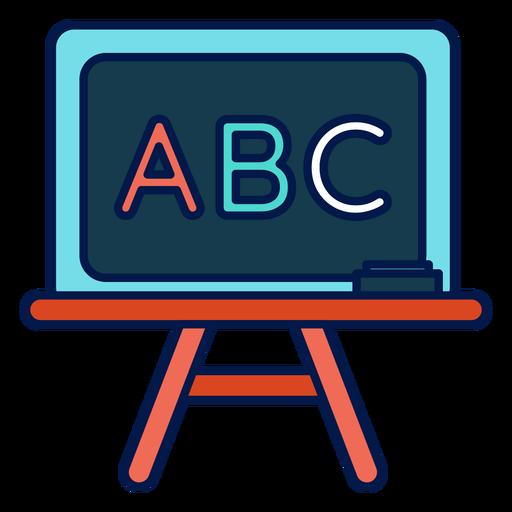 Abc Chalkboard Icon