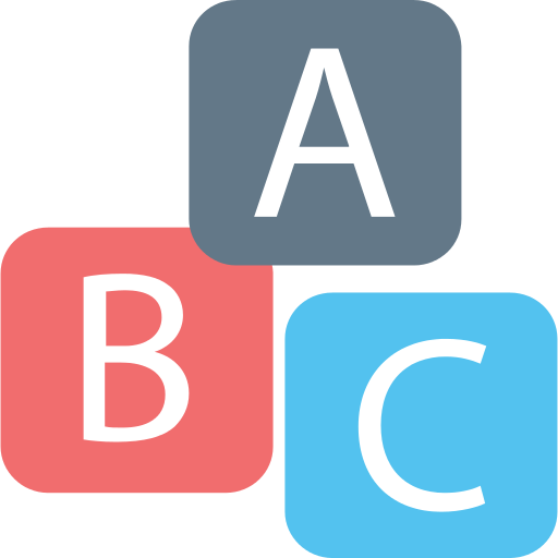 Bricks Abc Png Icon