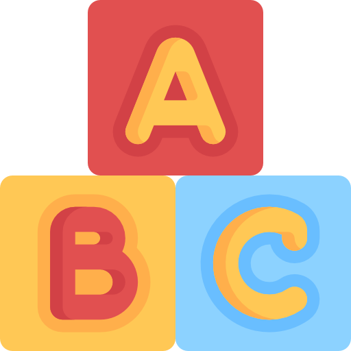 Toy, Kid And Baby, Childhood, Blocks, Abc Icon