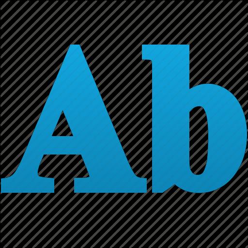 Abc, Alphabet, Design, Font, Style, Words, Write Icon