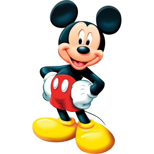 Mickey Mouse Icon Group With Items