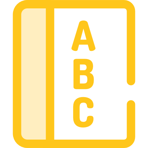 Abc, Education, Writing, Letter, Text Icon