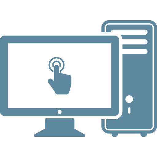Computer, Desktop, Device, Hardware, Monitor, Pc, Server Icon