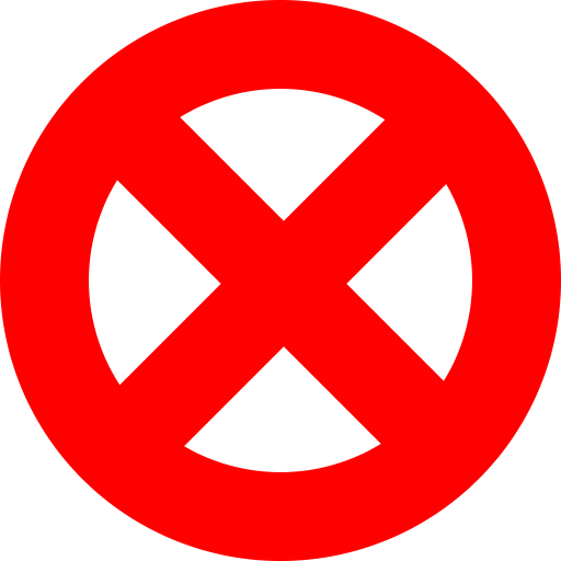 Prohibited Sign Forbidden Sign Abort Clipart