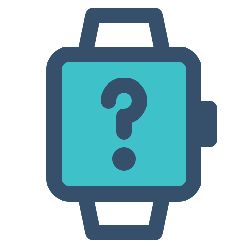 Smart, Watch, Help, About Icon Free Of Smart Watch