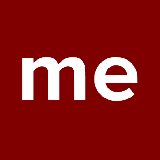 Maroon About Me Icon