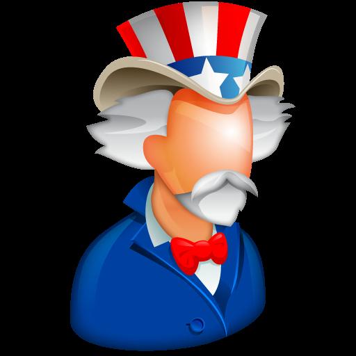 Uncle Sam Icon Free Large Boss Iconset Aha Soft