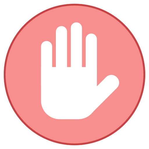 Private, Stop, Symbol Icon Free Of Responsive Office Icons